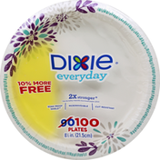 Dixie Plates, 8-1/2 in