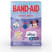 Band-Aid Brand Adhesive Bandages Featuring Disney Emoji Assorted Sizes