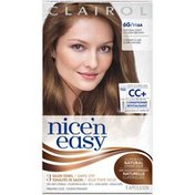 Clairol Nice 'n Easy, 6G/116A Natural Light Golden Brown, Permanent Hair Color, 1 Kit Female Hair Color