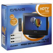 Craig TV, High Definition LCD, 15 Inch