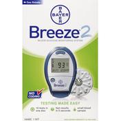 Breeze Bar Blood Glucose Monitoring System