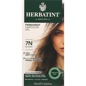 Herbatint Haircolor Gel, Permanent, Blonde 7N