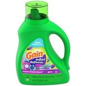 Gain Odor Defense Liquid Laundry Detergent, Super Fresh Blast Scent