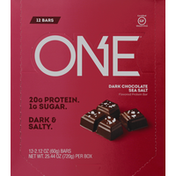 One Protein Bar, Dark Chocolate Sea Salt Flavored