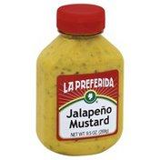 La Preferida Mustard, Jalapeno, Bottle