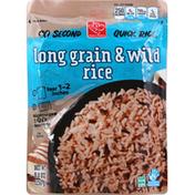 Harris Teeter Quick Rice, Long Grain & Wild