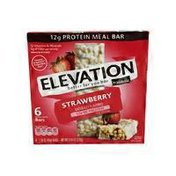 Fit & Active Strawberry Protein Meal Bars