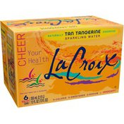 LaCroix Sparkling Water, Tan Tangerine