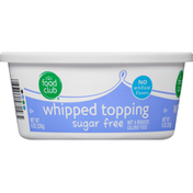 Food Club Whipped Topping, Sugar Free