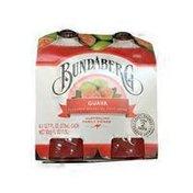 Bundaberg Brewed Drinks Fruit Drink, Sparkling, Guava Flavored