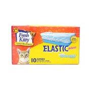 Fresh Kitty Elastic Plus Odor Zorb Jumbo Litter Box Liners