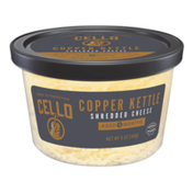 Cello Cheese Copper Kettle Cup Shredded