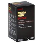 GNC Mega Men, 50 Plus, Timed-Release Caplets