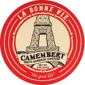 La Bonne Vie Cheese, Soft-Ripened, Camembert