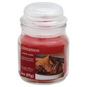 Langley Candle, Scented, Cinnamon