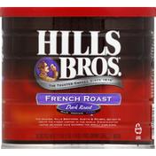 Hills Bros. Coffee, Ground, Dark Roast, French Roast
