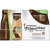 Starbucks Frappuccino Mint Mocha Coffee Drink