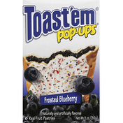 Toast Em Fruit Pastries, Frosted Blueberry