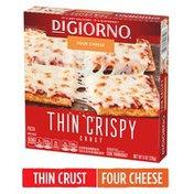 DiGiorno Four Cheese Thin Crispy Crust Frozen Pizza