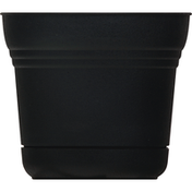 Bloem Planter, Saturn Black, 5 Inches