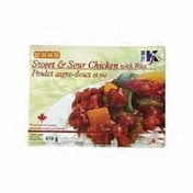 Kj Foods Sweet & Sour Chicken With Rice