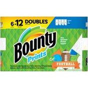 Bounty Select-A-Size Paper Towels, Print, Double Rolls = Regular Rolls