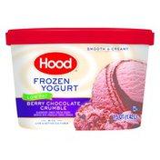 Hood Low Fat Frozen Yogurt Berry Chocolate Crumble