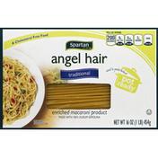 Spartan Spaghetti, Angel Hair, Traditional