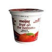 Meijer Fruit On The Bottom Lowfat Yogurt