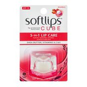 Softlips Lip Protectant Sunscreen Cube Strawberry