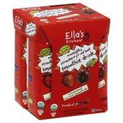 Ella's Kitchen Veggie Juice -Apple, Strawberry, Beet, & Raisin