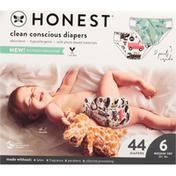 Honest Tea Diapers, Rockin' Tot, Size 6 (35+ lbs)