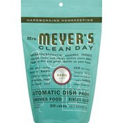 Meyer's Automatic Dish Pack, Basil Scent