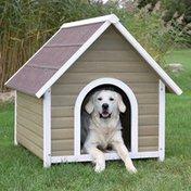 Trixie Large Gray & White Nantucket Dog House