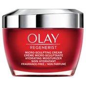 Olay Micro-Sculpting Cream Face Moisturizer, Fragrance-Free