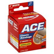 Ace Elastic Bandage, Antimicrobial, 2 Inch Width