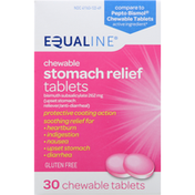 Equaline Stomach Relief, Chewable, 262 mg, Tablets