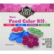 First Street Food Color, Kit, Neon