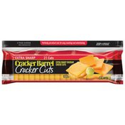 Cracker Barrel Extra Sharp Cheddar Cheese Cracker Cuts