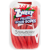 Zweet Sour Ropes, Filled, Strawberry