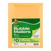 Duck Kraft Bubble Mailers #0 - 2 PK