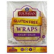 Toufayan Wraps, Gluten Free, Smart Grain