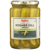 Hy-Vee Kosher Dill Reduced Sodium Spears