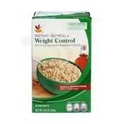 SB Weight Control Maple & Brown Sugar Flavored Instant Oatmeal - 8 CT