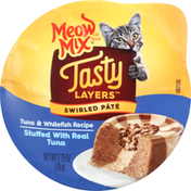 Meow Mix Cat Food, Tuna & Whitefish Recipe, Swirled Pate