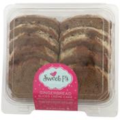 Sweet P's Gingerbread Sliced Creme Cake