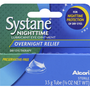 Systane Lubricant Eye Ointment, Overnight Relief