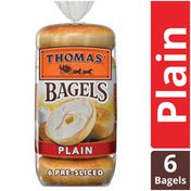 Thomas' Plain Original Pre-Sliced Bagels