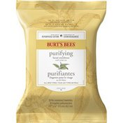 Burt's Bees White Tea Extract Facial Cleansing Towelettes