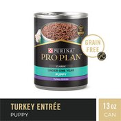 Purina Pro Plan Grain Free, High Protein Wet Puppy Food, DEVELOPMENT Classic Turkey Entree